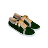 Boubou Silk Green - SILK SNEAKERS