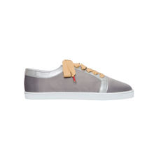 Load image into Gallery viewer, Boubou Silk Gunmetal - SILK SNEAKERS