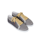 Boubou Silk Gunmetal - SILK SNEAKERS