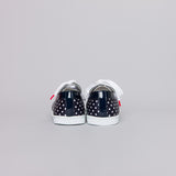 Boubou Silk Black Dots - SILK SNEAKERS