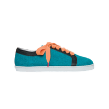 Load image into Gallery viewer, Boubou Wool Turquoise - WOOL SNEAKERS