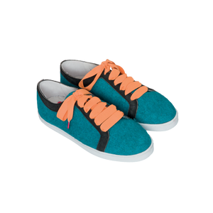 Boubou Wool Turquoise - WOOL SNEAKERS