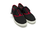 Classic Black Red - CANVAS SNEAKERS