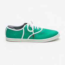 Load image into Gallery viewer, Classic Green - CANVAS SNEAKERS