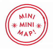 Load image into Gallery viewer, MiniMiniMap - Paris for cool kids - French Version