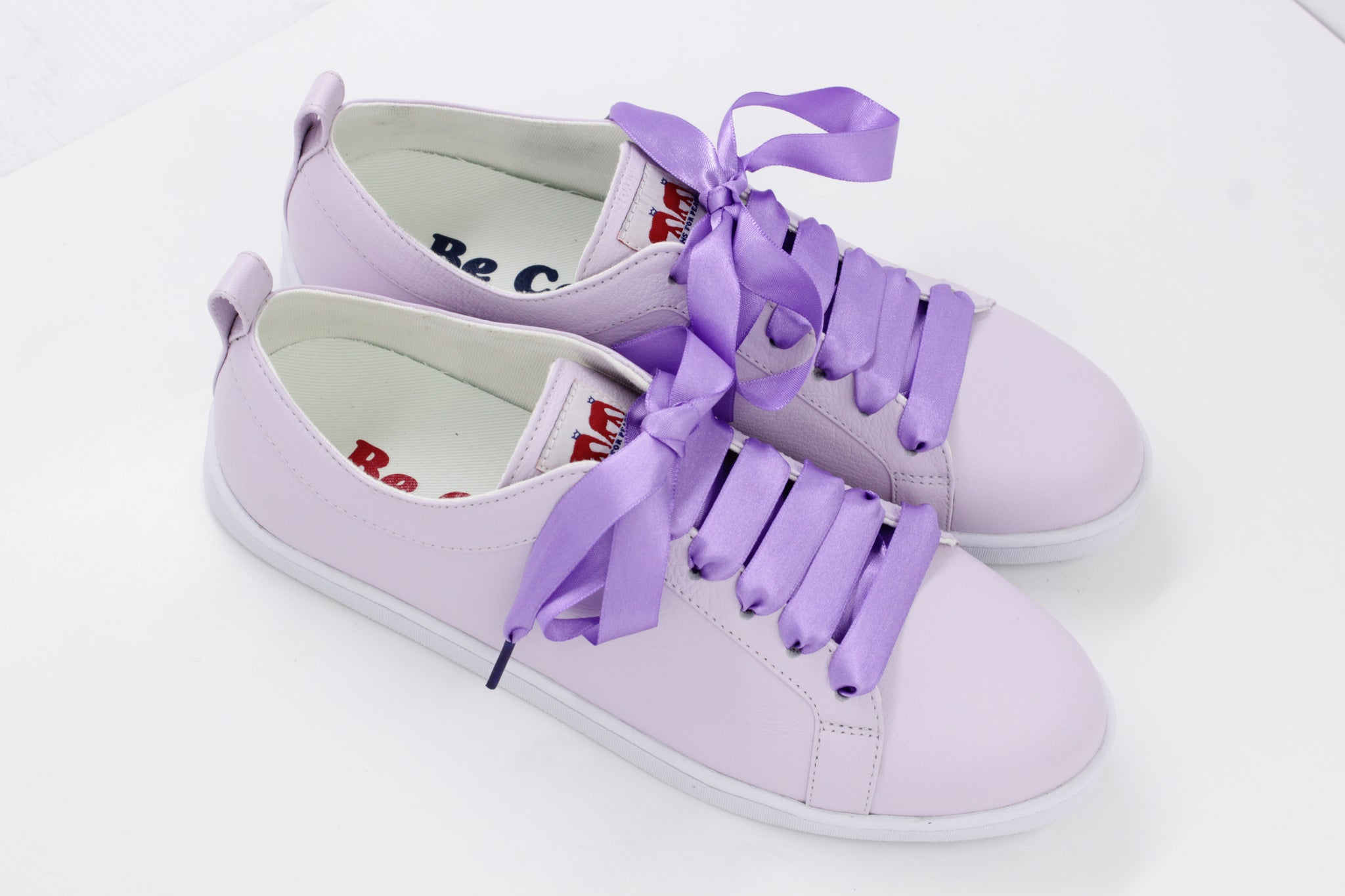 Boubou Leather Lavender - LEATHER SNEAKERS