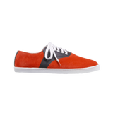 Lucho Suede Red Leather Black - SUEDE SNEAKERS