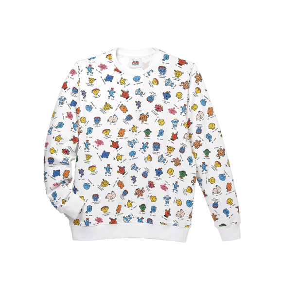 Sweatshirt Mr. Men Little Miss - WHITE/MULTICOLOR SWEATSHIRT