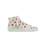 Mr. Men Little Miss Vinci High Top Multicolor - PRINTED CANVAS SNEAKERS