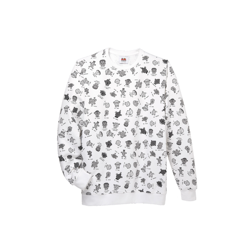 Sweatshirt Mr. Men Little Miss - BLACK/WHITE SWEATSHIRT