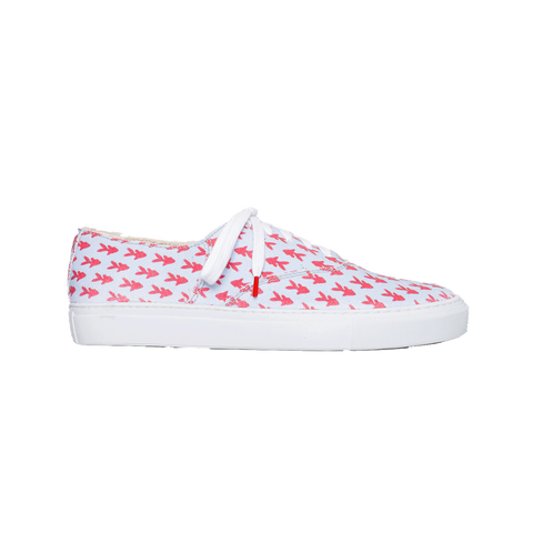 Tonus Canvas Light Blue Fish - PRINTED CANVAS SNEAKERS
