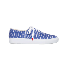 Load image into Gallery viewer, Tonus Canvas Blue Shark - PRINTED CANVAS SNEAKERS