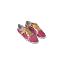 Load image into Gallery viewer, Boubou Silk Fuchsia - SILK SNEAKERS