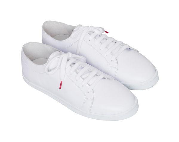Boubou Leather White - LEATHER SNEAKERS