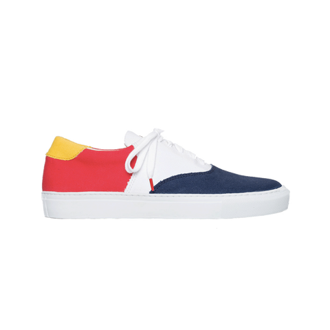Vinci Canvas France - TRICOLOR CANVAS SNEAKERS