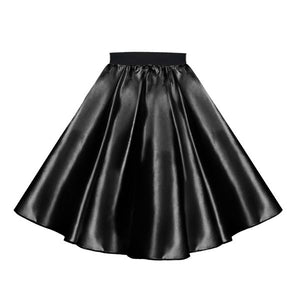 Satin 50's Rock N Roll Skirt