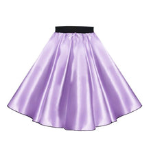 Load image into Gallery viewer, Satin 50's Rock N Roll Skirt