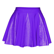 Load image into Gallery viewer, Starlite Hologram Crystal Dance Skirt