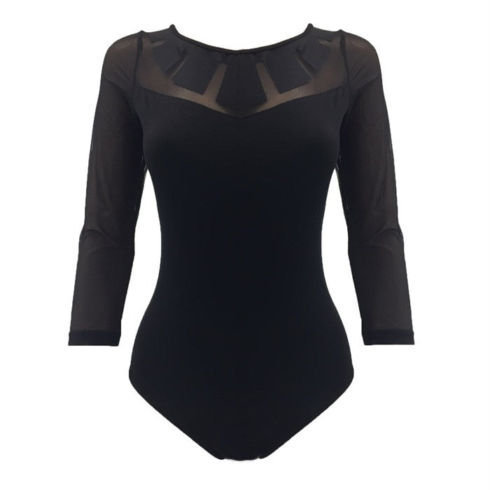 Bloch Chandra Sunray Long Sleeve Leotard