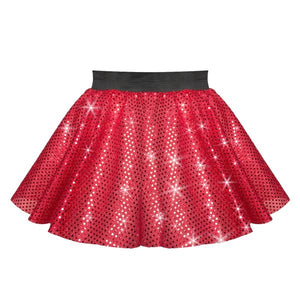 Circular Sequin Costume Skirt