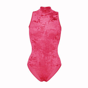 Starlite Crushed Velvet Fifi Dance/Gym Leotard
