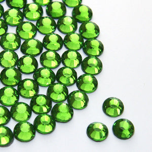 Peridot Rhinestone (Hotfix/ Iron on)