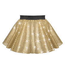 Load image into Gallery viewer, Circular Sequin Costume Skirt