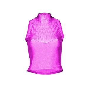 Starlite Hologram Diamond Dance Top