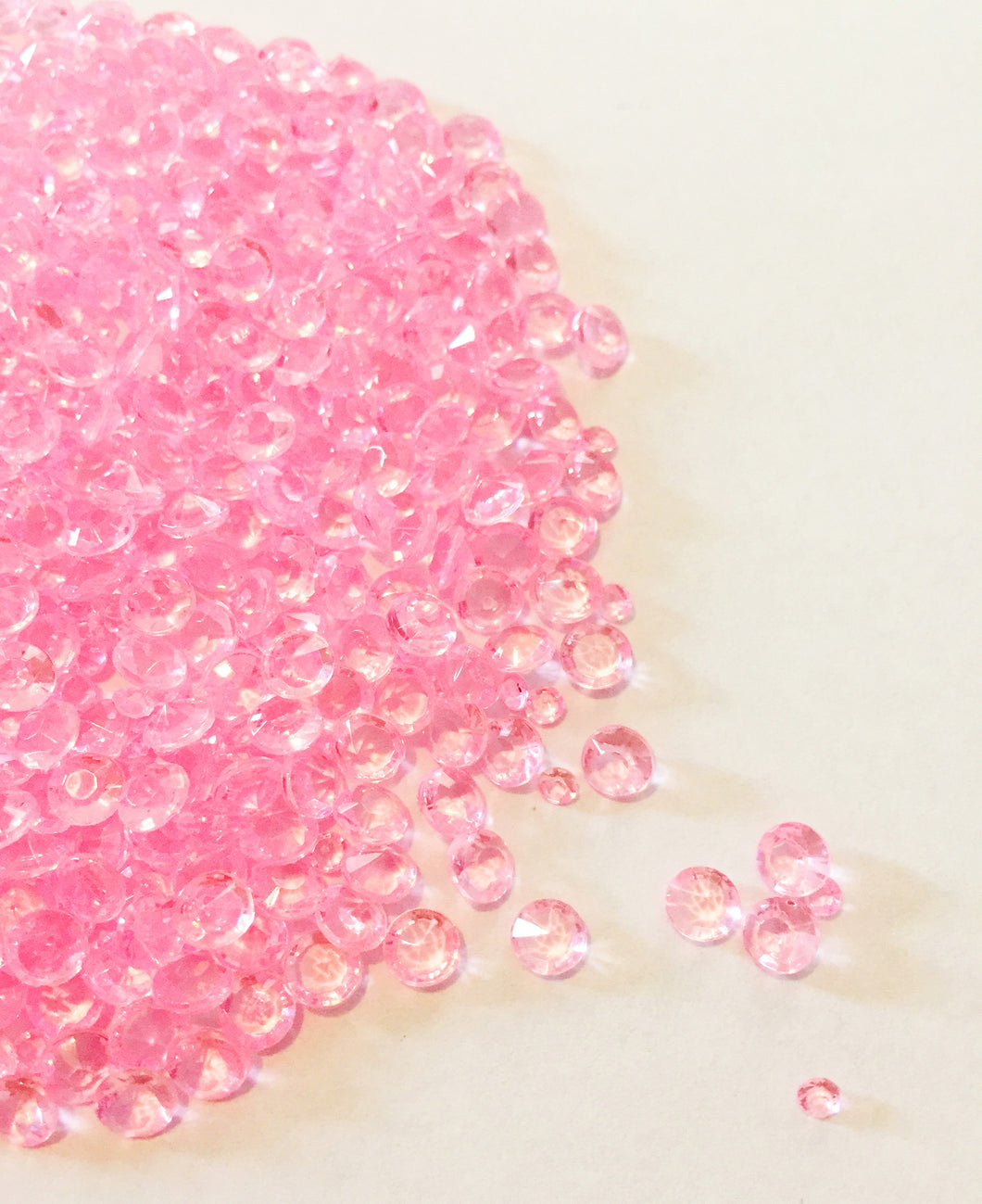 5000 4.5mm Pink Scatter Crystals