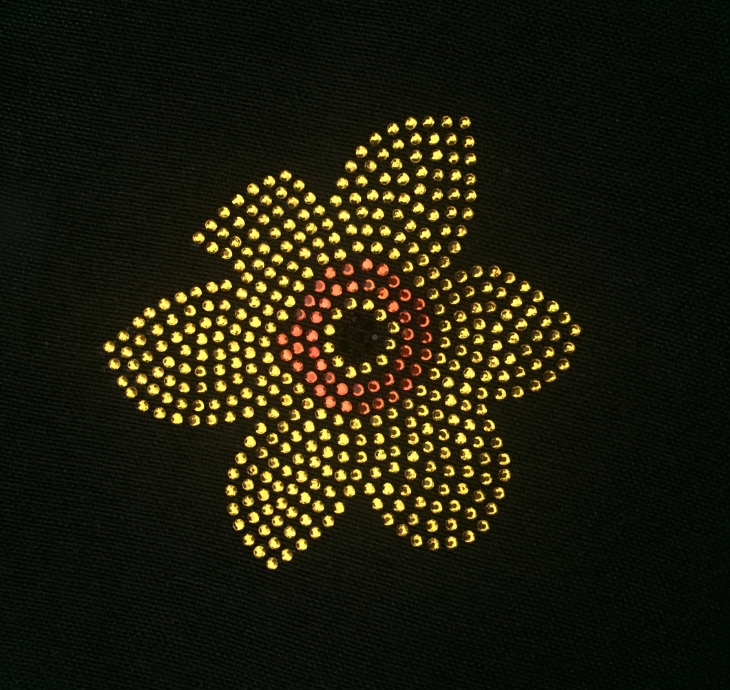 Daffodil Flower Iron On Transfer