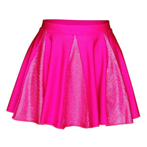 Starlite Hologram Crystal Dance Skirt