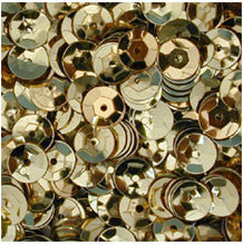 Gold 8mm Cup Sequins 8g