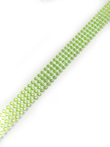 Self Adhesive 3mm Light Green Strip