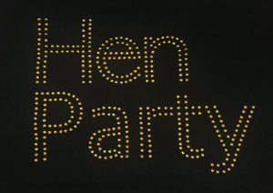 Hen Party Iron On Transfer