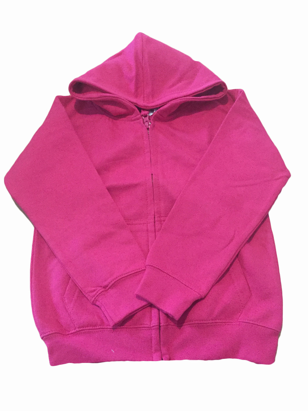 Pink Girls Personalised Hoody