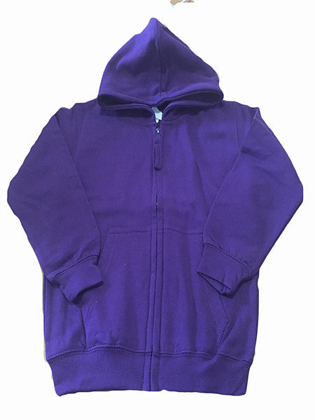 Purple Girls Personalised Hoody