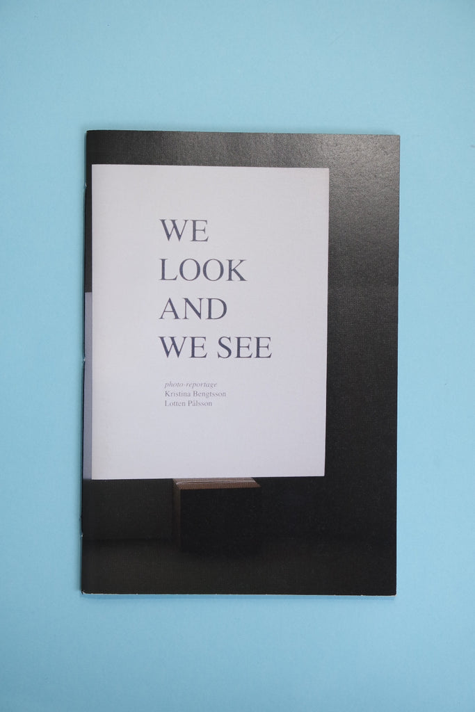 We Look And We See