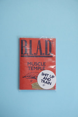 B.L.A.D. Issue nr. 8  - Muscle Temple