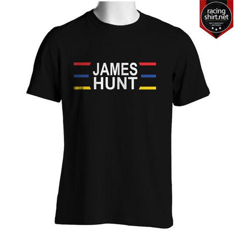 JAMES HUNT LEGEND F1 RETRO - Racingshirt