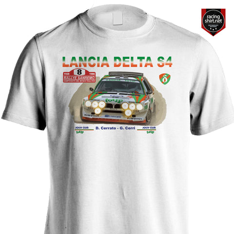 LANCIA DELTA S4 TOTIP SANREMO RALLY 86 Group B