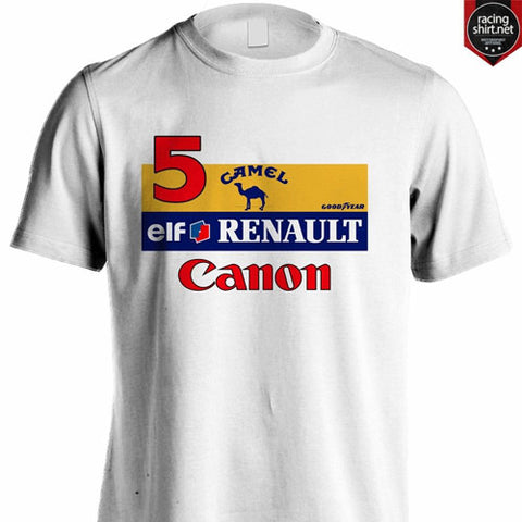 WILLIAMS RENAULT F1 CANON RACING NIGEL MANSELL - Racingshirt