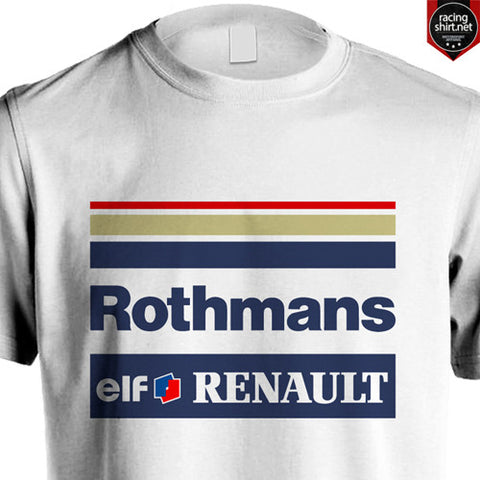 WILLIAMS RENAULT F1 ROTHMANS RACING SENNA HILL - Racingshirt