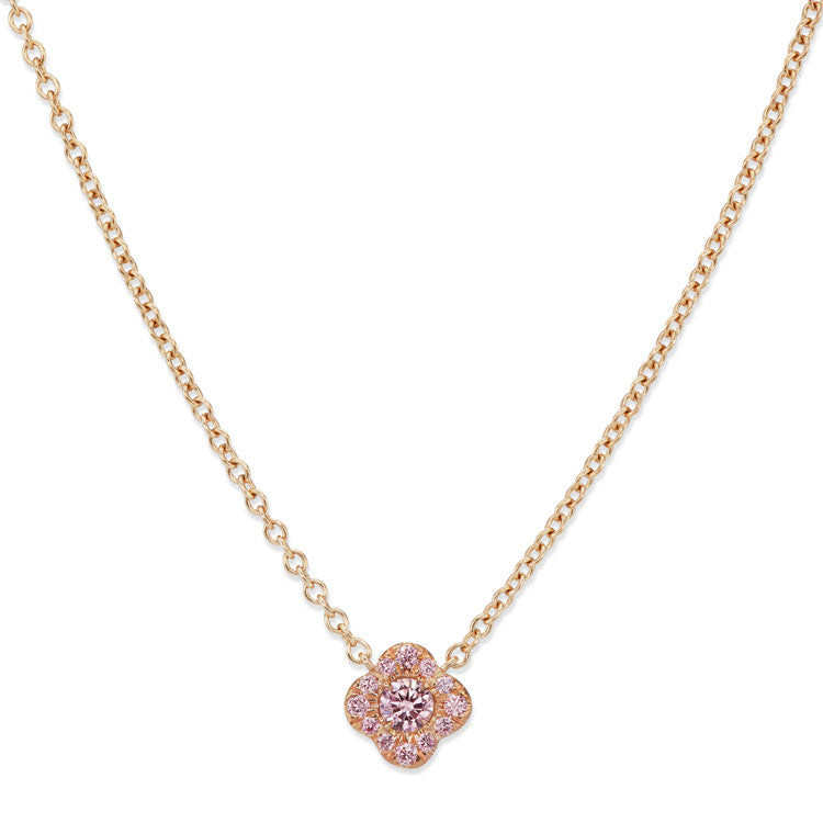 pink diamond jewelers barmakian necklace rose and gold arg argyle products pendant