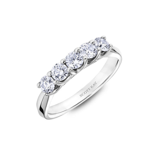 scott kay diamond wedding band - Scott Kay Wedding Rings