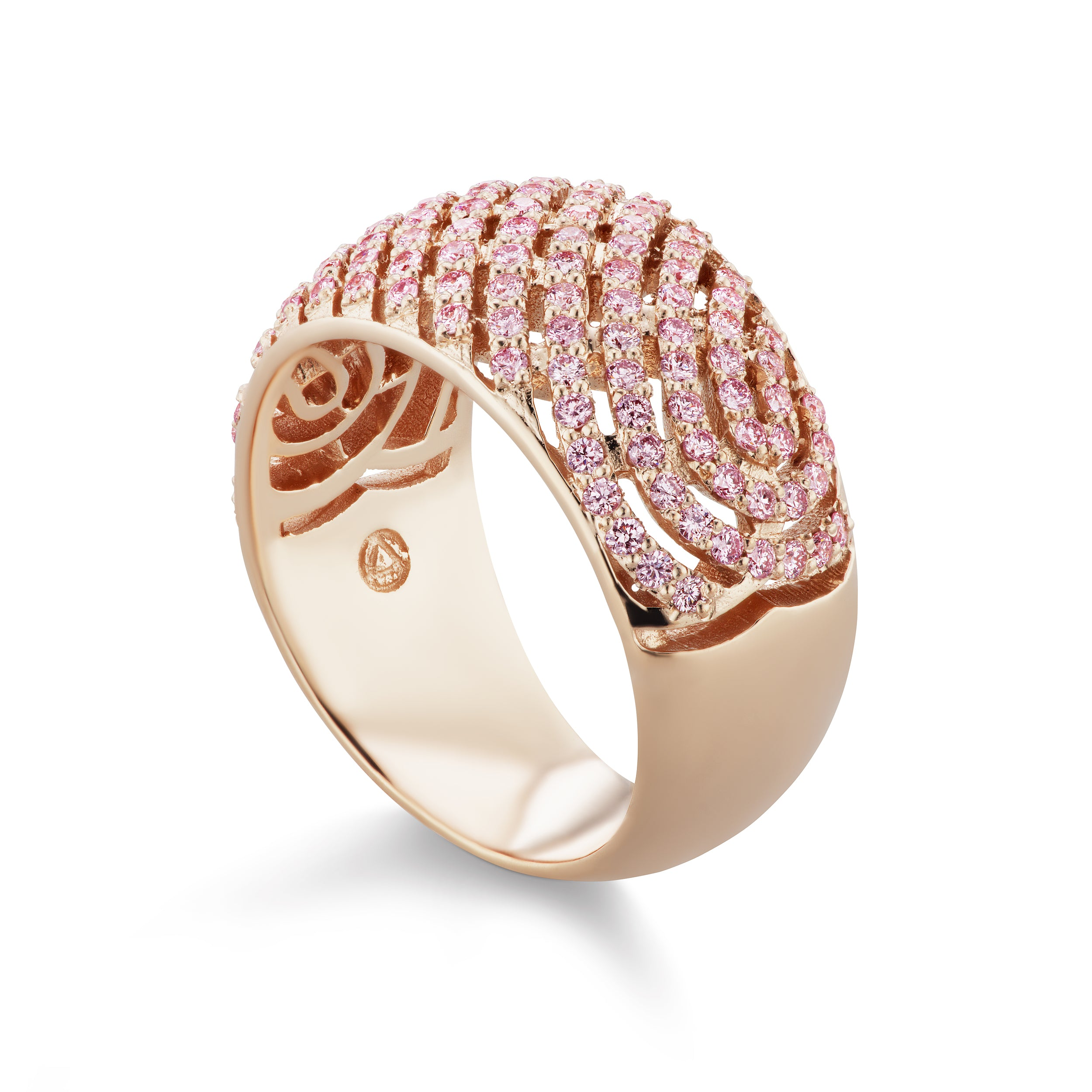and stacking diamond banns eternity yellow band bands stone strand white bezel gold pink products