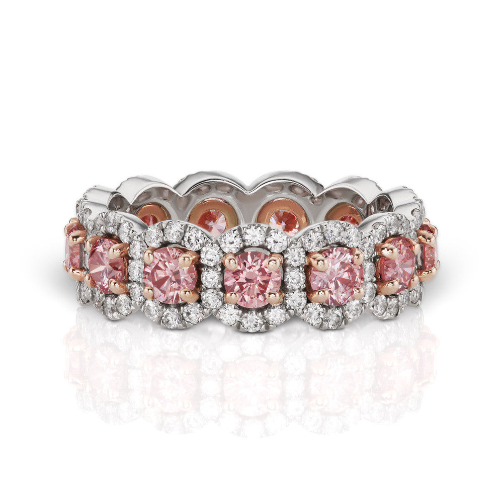 pink gregg bracelet zoom barmakian and white ruth products diamond