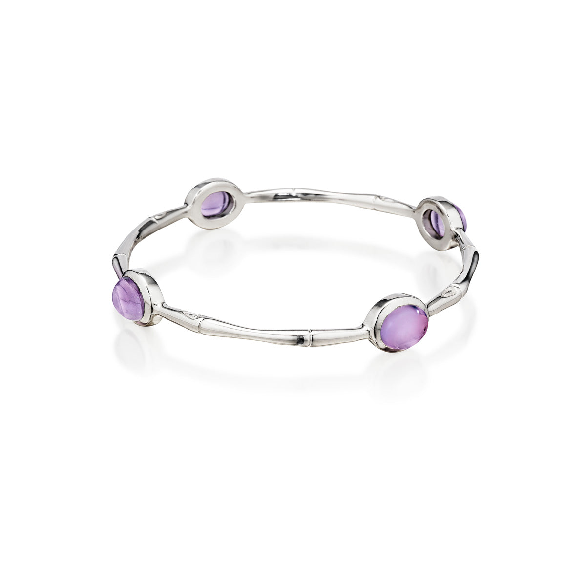 multi sterling bangles thistle amethyst bangle products silver bee barmakian
