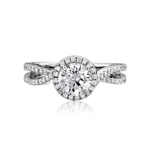 Scott Kay Diamond Engagement Ring