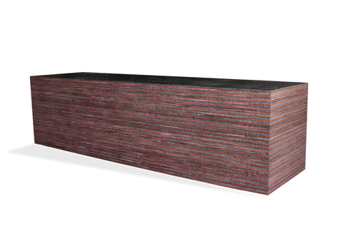 SpectraPly Blank: Black Velvet - Cousineau Wood Products, CWP-USA.com, DymaLux,  Spectraply, Turning blanks, Pepper Mill, Diamond Wood, Webb Wood, laminated wood