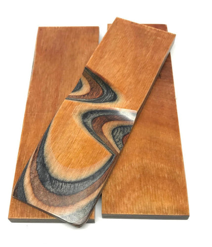 DymaLux Buckskin Knife Scales - Cousineau Wood Products, CWP-USA.com, DymaLux,  Spectraply, Turning blanks, Pepper Mill, Diamond Wood, Webb Wood, laminated wood